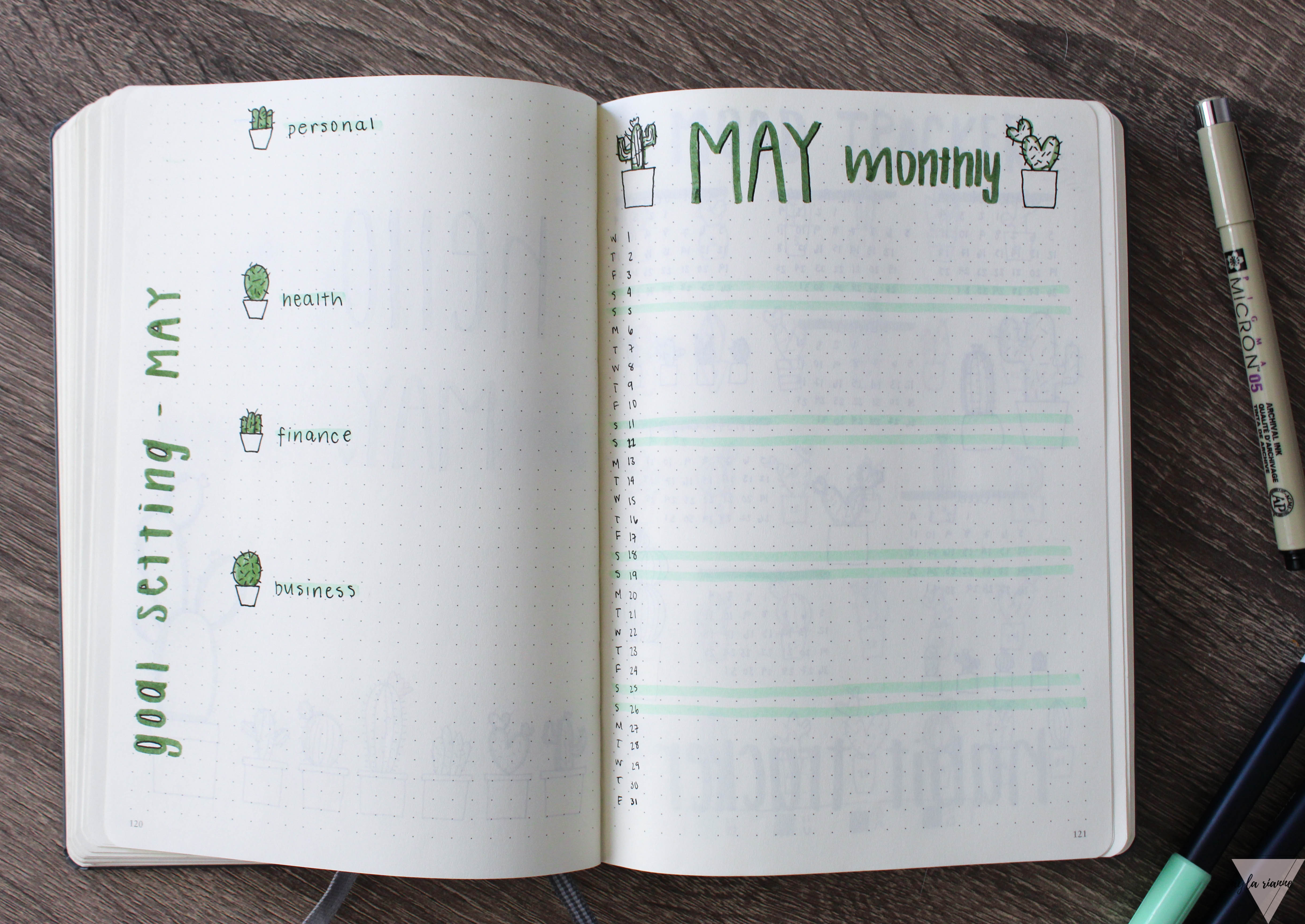 Plan With Me - May 2019 - Ayla Rianne